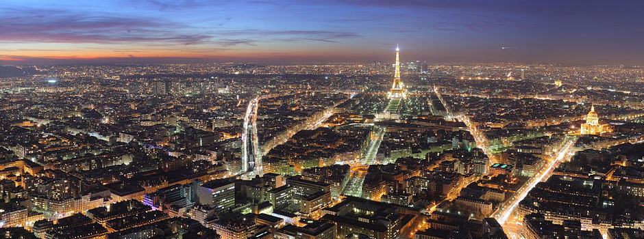 Immigration Law - View of Paris, France's skyline and Eiffel Tower